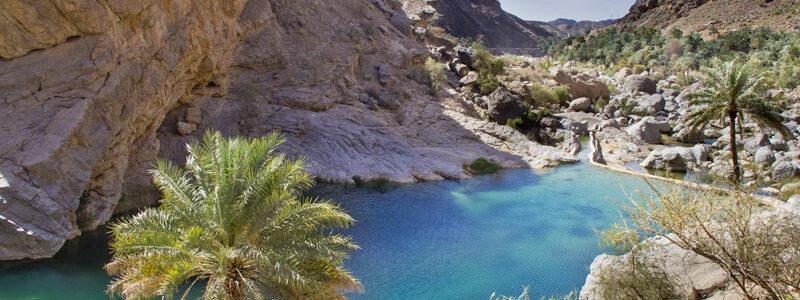 Les monts Hajar et Rustaq